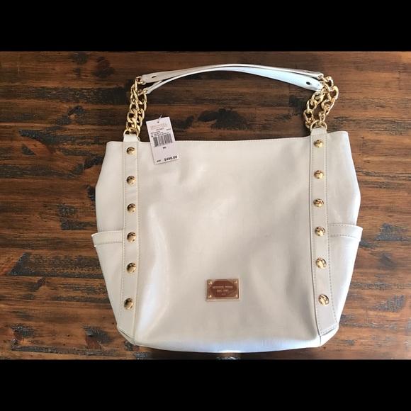 95768d4a951b Michael Kors Bags | Delancy Tote Bag White Dust Bag | Poshmark